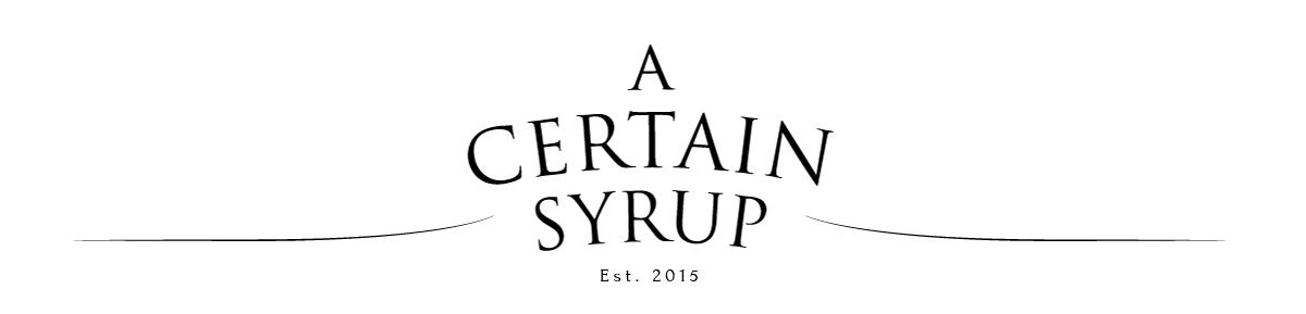 A Certain Syrup online magazine
