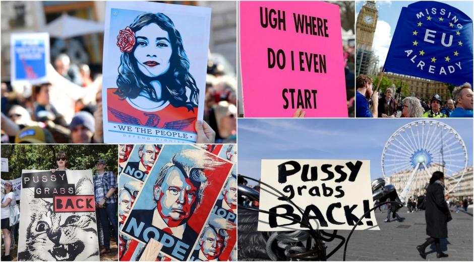 Protest Art Signage